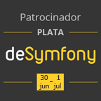 Badge Sponsor deSymfony Madrid 2017